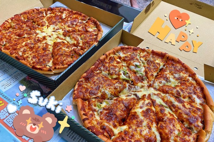 台中北屯美食【哈喀披薩城】Pizza外帶買一送一好好吃啊!滿800元即可外送喔!