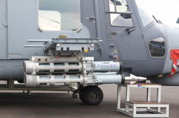 AW-159 Wildcat с УР LMM