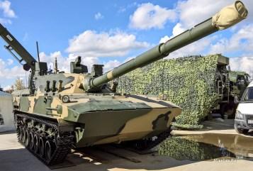 Авиадесантируемая самоходная противотанковая пушка «Спрут-СДМ-1»