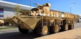 БТР-80 с дистанционно-управляемым модулем (12,7-мм пулемет). ЦНИИ «Буревестник»