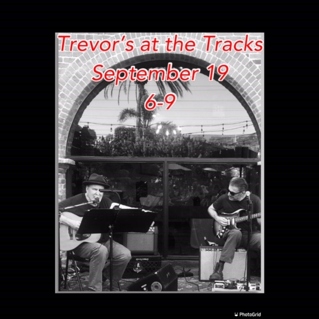 Poul & Richard at Trevor's at the Tracks