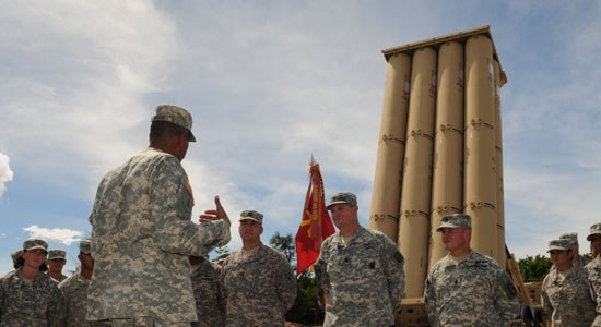 THAAD Battery in South Korea Completes Setup