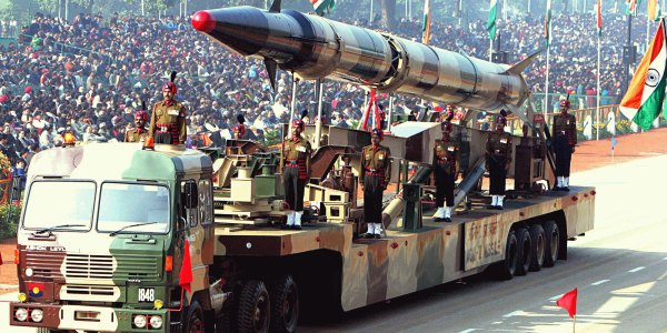India Agni-2 Missile Fails Test