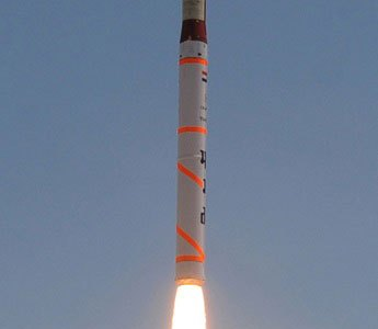India Conducts Seventh Test-Launch of Agni-4