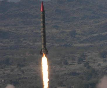 Pakistan Test Fires Hatf-5 Ballistic Missile