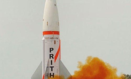 India Tests New High-Altitude Interceptor Missile