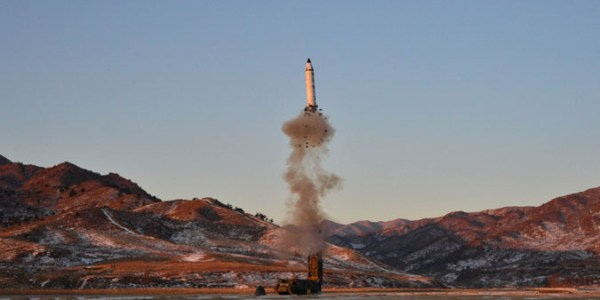 North Korea Test-Launches New Ballistic Missile
