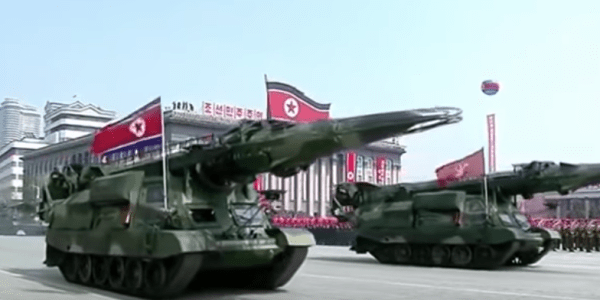North Korea's Second Suspected KN-17 Missile Test Fails