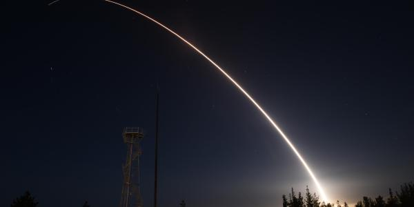 US Air Force Test Fires Minuteman III ICBM