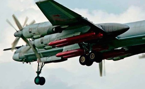 Russia Fires Kh-101 Cruise Missiles into Syria