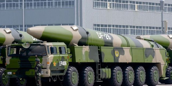 China Commissions DF-26 Missile Brigade