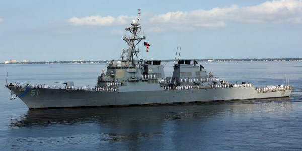 First Arleigh Burke Flight III Destroyer Enters Production