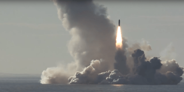 Russia Successfully Tests Bulava SLBM Salvo