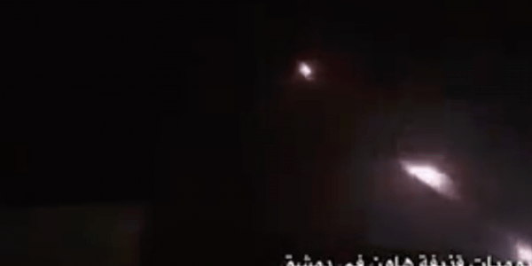 Israel, Iran Exchange Missile Fire in Syrian Theater