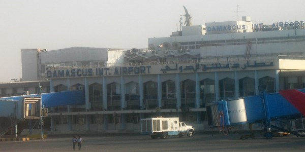 Israeli Missiles Strike Near Damascus Airport