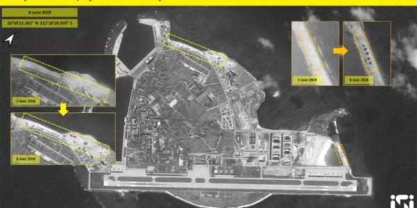Chinese HQ-9 SAMs No Longer Visible on Woody Island