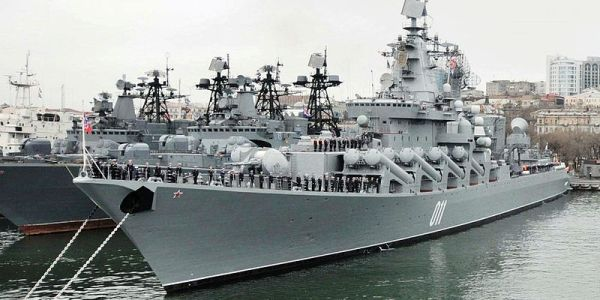 Russian Navy Tests Antiship Missiles