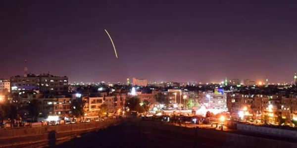 Reports: Israel Conducts Syria Missile Strike