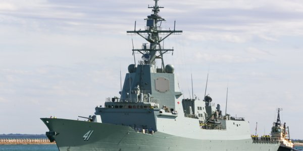 Australian Navy Commissions Second Hobart-Class Destroyer
