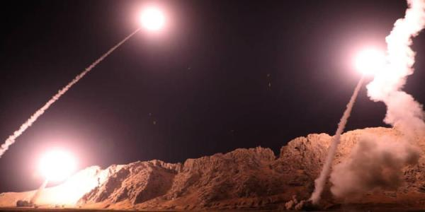 Iran Launches Missile Strike on ISIL in Southeast Syria