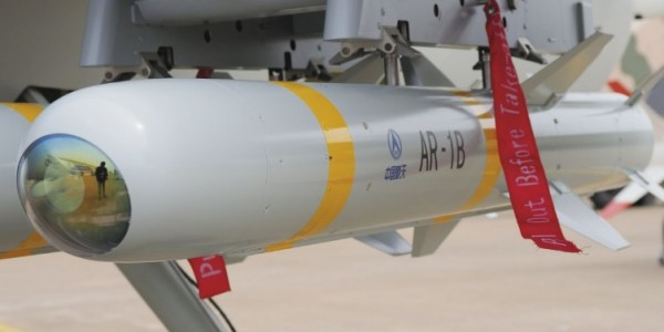 China Completes Development of AR-1B Missile