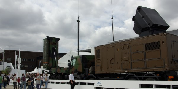 Singapore Displays Aster Surface-to-Air Missile System
