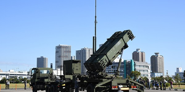 Japan Conducts Public Patriot Missile Demonstration