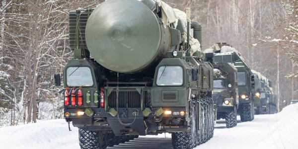 Russia Drills Nuclear Forces