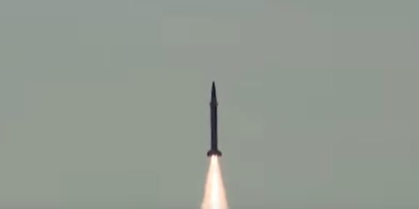 Pakistan Test Fires Shaheen-1 SRBM