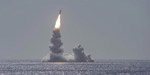 US Navy Test Fires Trident II SLBM