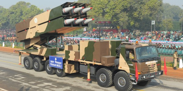 India Developing New Tactical Ballistic Missile