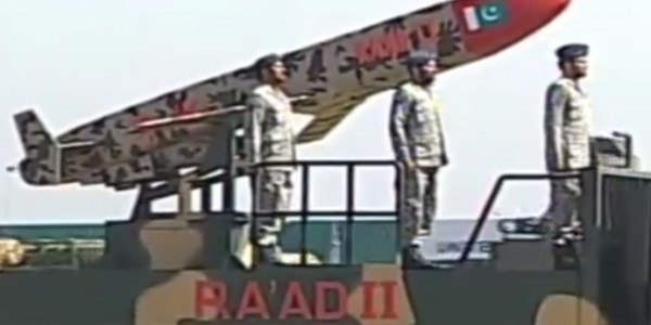 Pakistan Flight Tests Ra'ad-II Cruise Missile