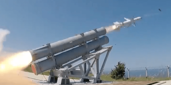 Turkey Test Fires Antiship Missile