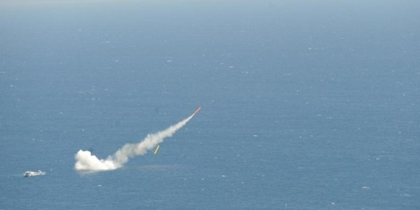 France Tests Naval Cruise Missile