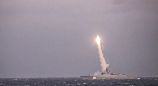 Russia Test Fires Ballistic, Hypersonic Missiles