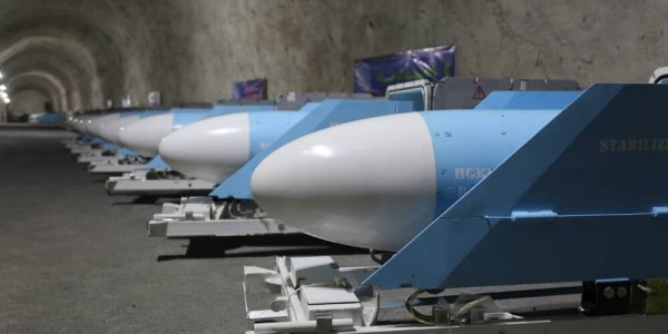Iran Reveals Underground Missile Base