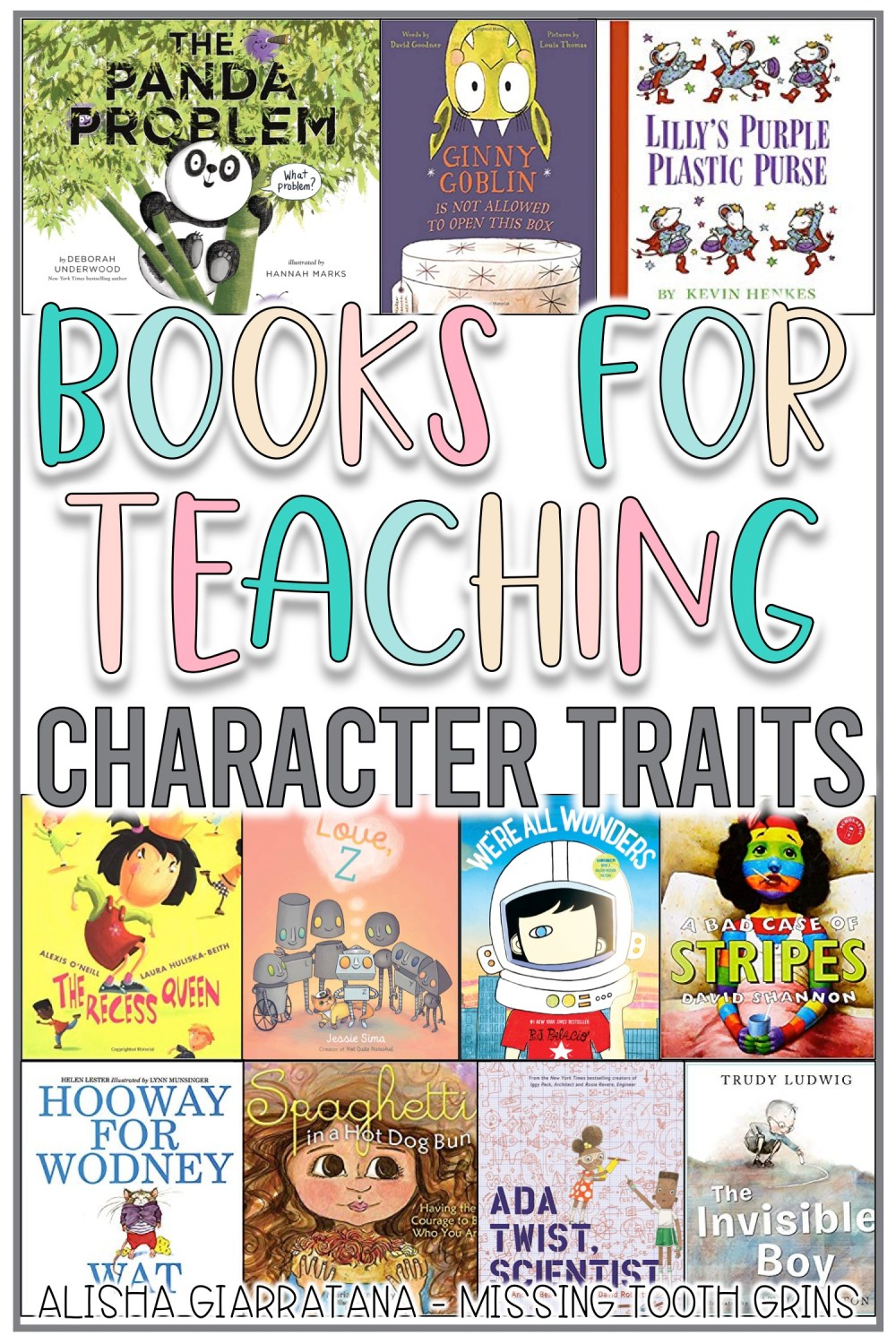 medium resolution of Books To Teach Character \u0026 Character Traits - Missing Tooth Grins