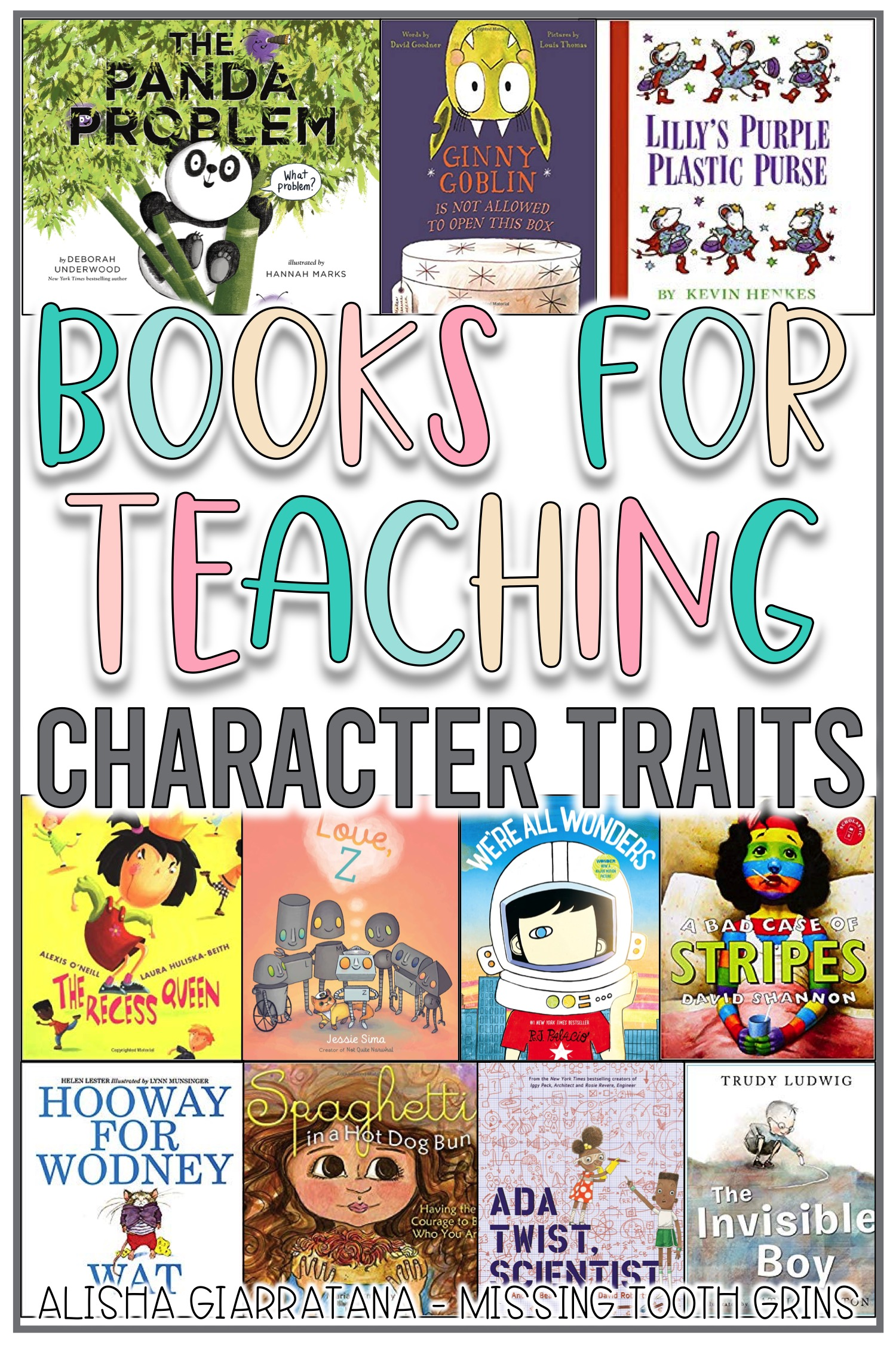 hight resolution of Books To Teach Character \u0026 Character Traits - Missing Tooth Grins