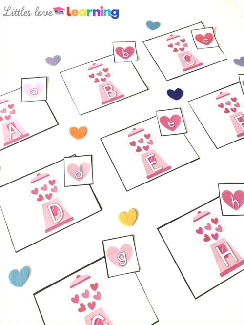 small resolution of Valentine's Day Freebies for K-2 - Missing Tooth Grins