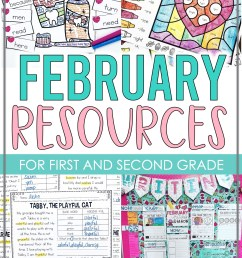 February Resources For 1st Grade Teachers - Missing Tooth Grins [ 2250 x 1500 Pixel ]