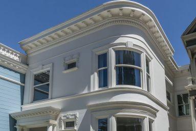 Современный интерьер в здании 1900 года, построенном в стиле Queen Anne Victorian. Город Сан-Франциско. Источник http://www.sfgate.com