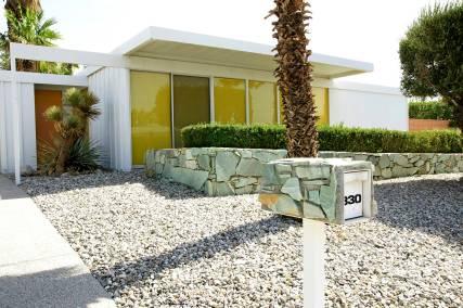 Дом в стиле Alexander в Палм Спрингс. Работа архитектора Дональда Векслера. Источник http://www.modernhomesblog.com/2013/11/02/donald-wexler-architect-palm-springs/