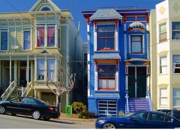 Дом в стиле Eastlake в Сан-Франциско. Источник https://www.flickr.com/photos/eob/462524537