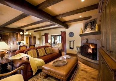 Дом в стиле Саутвестерн: интерьер гостиной. Источник www.sesshudesign.com
