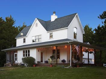 Американский фермерский дом в стиле Farmhouse. Источник www.hgtv.com