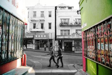 San Fransico улица с кондоминиумами. Источник www.detour.com