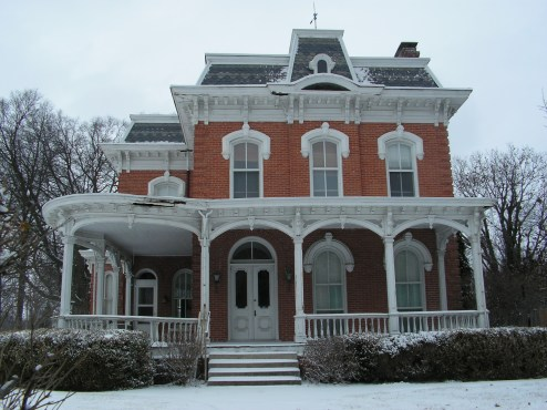 Second Empire style house