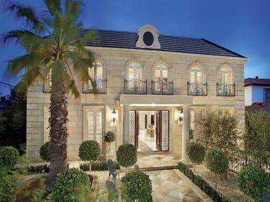 Дом в стиле Регенство (Beaux Arts)