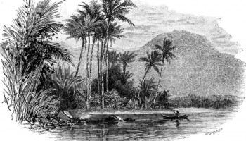 A Coastal Scene in Samoa