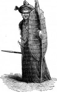 A Battah Warrior